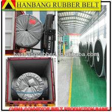 Modérer la bande transporteuse résistante à l'huile EP500