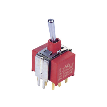 Kunci Momentary Lock Sealed Toggle Switch