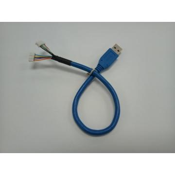 USB 3.0 A/M to housing jumper cable