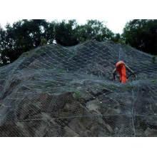 Deslizamientos de tierra y valla de flujo de escombros / Protección de vallas de enlace de cadena