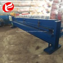 Máquina de corte manual de la máquina de corte de placa de hierro de metal