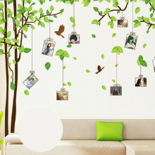 Etiqueta home removível da parede da árvore da decoração do jogo dos miúdos, etiquetas decorativas da parede de DIY