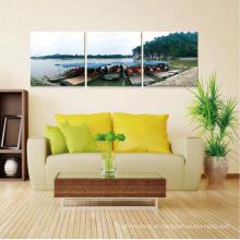 Hot Sell Furniture Decor Acrílico Texturizado Pintura Abstrata Moderno