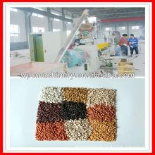 Melhor! Máquina de granulação de plástico de madeira