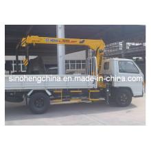 Guindaste montado em camião Dongfeng 2t XCMG Sq2sk1q