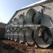 Tipo de martillo pesado ventilador de extracción de presión negativa industrial del sistema de ventilación montado en la pared
