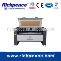 Richpeace computerized double head laser cutting lengraving machine