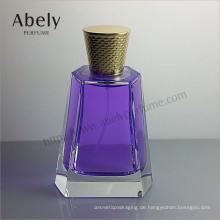 Luxus poliert Spray Glas Parfüm Flasche für Unisex