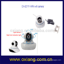 360 degrees adjustable dome cctv wireless camera