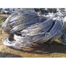 Aluminium Schrottdraht 99,7% Min