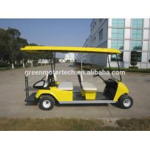 elektrische 6 Person billige gebrauchte Golfwagen Rücksitz mit CE-Zertifizierung