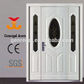 European style classic oval glass entry door