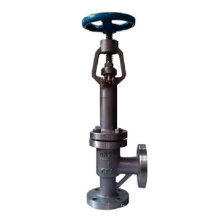 Anti-Freeze Angle Type Forged Globe Valve (GADJ44H)