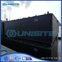 Dredging steel pontoons marine float