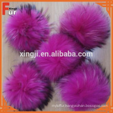 Hot Sale Chinese Raccoon Fur Pompons