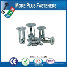 Made in Taiwan Jack Nuts Gewinde Insert Molly Jack Nuts