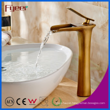 Fyeer Antique Bronze Waterfall Basin Faucet