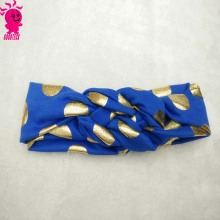 children accessories big gold polka dot flower headband wide head wrap and faux leather headbands for girls babies