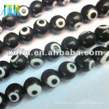 perlas de cristal malas del ojo del pavo de la moda TR050