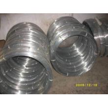 Arame Ovalado Galvanizado (alambre galvanizado oval) 2.2X2.7mm
