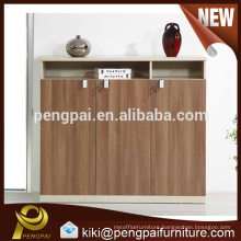 High end large size three doors MDF home cabinet design