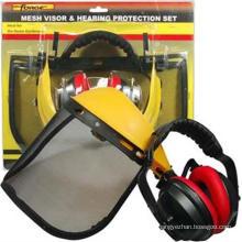 Arbeitszubehör-Maschen-Visier-Ohrenschützer stellte Heimwerker-Schutz Soem ein