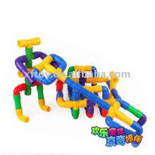 Brinquedos plásticos da construção da tubulação