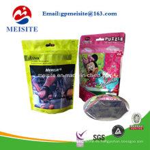 Bolsa de Alimentos para niños de plástico de cremallera de Doypack de alta calidad