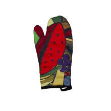2018 Kefei Hot Style Beautiful Design Fiestaware Custom Printed Oven Mitt