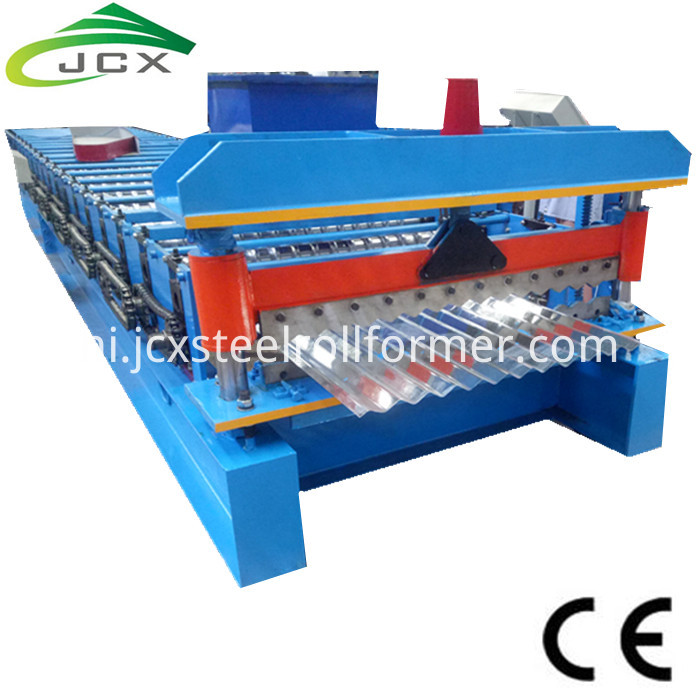 Colour Corrugated Sheet Machine