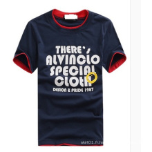 T-shirt homme en coton haute qualité OEM Plus Size