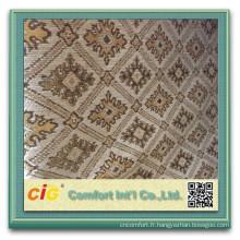 100 polyester canapé tissu de Chenille chenille canapé housse tissus