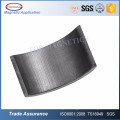 Ceramic Permanent Ferrite Segment Magnet For Ceiling Fan Motor