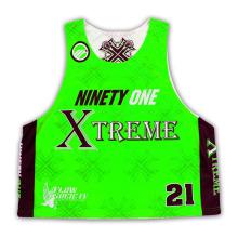 Moda nova design sublimado lacrosse jersey para homens