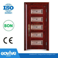 Exterior metal doors models
