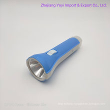 1*AA Battery Plastic LED Torch Flashlight for Supermarket