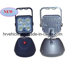 Lumière de travail 15W avec interrupteur magnétique de 4,2 pouces