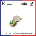 10 mm X 1 mm selbst Klebstoff dünn Neodym Scheibe runden Magneten