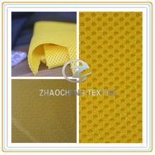 Tela de malla de sándwich con agujeros para zapatos y cortina