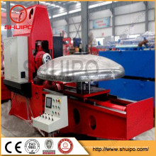 Hot sale SHUIPO Tank head flanging Machine for Storage Tank Elliptical Dished Head