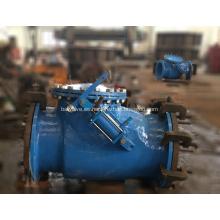 Válvula de retención de giro con cilindro hidráulico