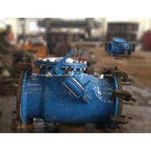 Rückschlagklappe mit Hydraulikzylinder