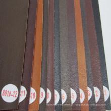 Padrão de lichia imitado pele couro para sofá