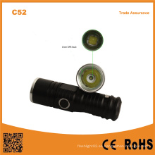 C52 alta potencia mini mini LED impermeable al aire libre de la antorcha