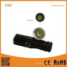 Миниатюрный светодиодный фонарик C52 высокой мощности Mini Waterproof Outdoor