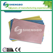 Nonwoven household wipe
