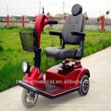 Scooter de mobilidade elétrica de 3 rodas pesadas para deficientes e idosos