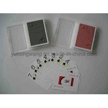 Carte de jeu de carte à jouer imprimée, jeu de société avec boîte PP