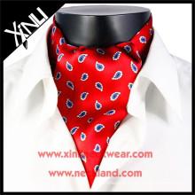 Vente chaude Hommes Imprimer Ascot Cravate cravate