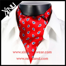 Hot Selling Men Print Ascot Tie Cravat